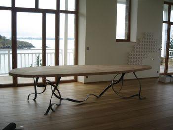 La table installée !